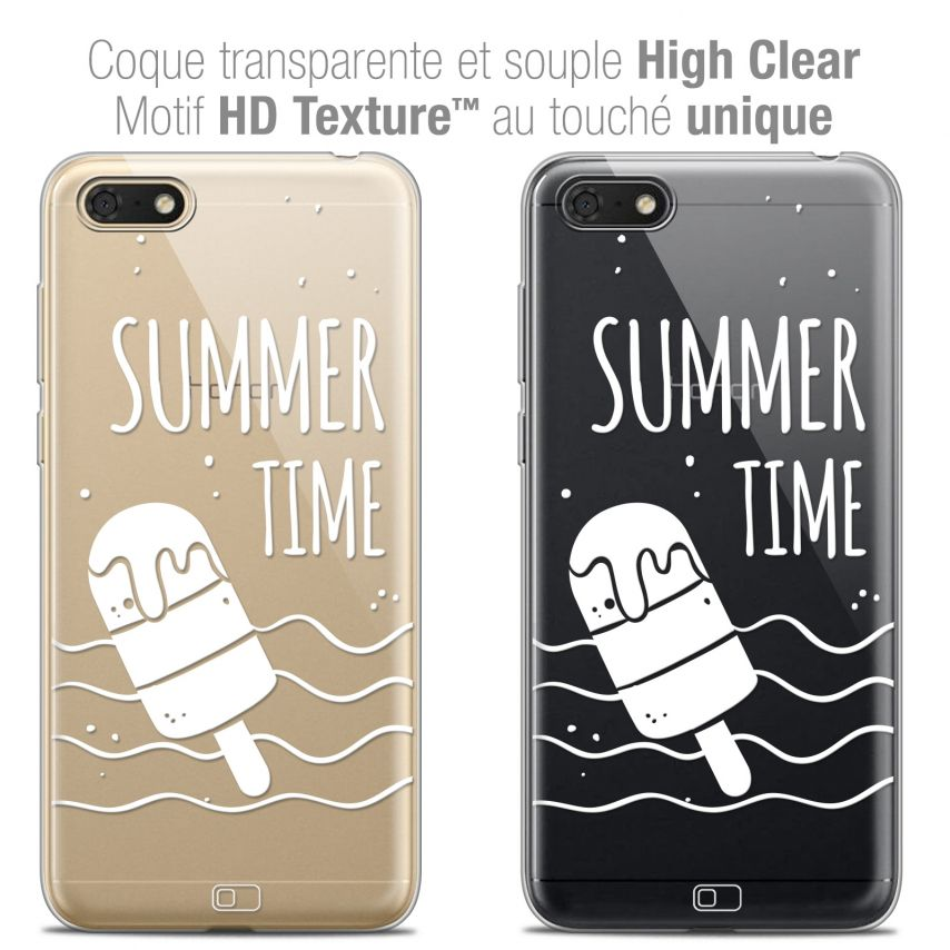 "Carcasa Crystal Gel Extra Fina Honor 7S (5.45"") Summer Summer Time"