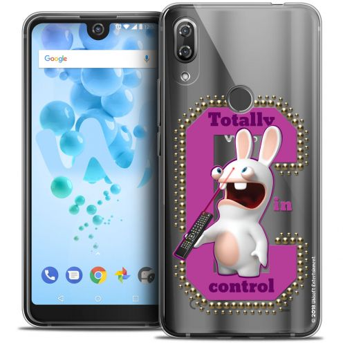 """Carcasa Crystal Gel Wiko View 2 PRO (6.0"""") Lapins Crétins™ In Control !"""