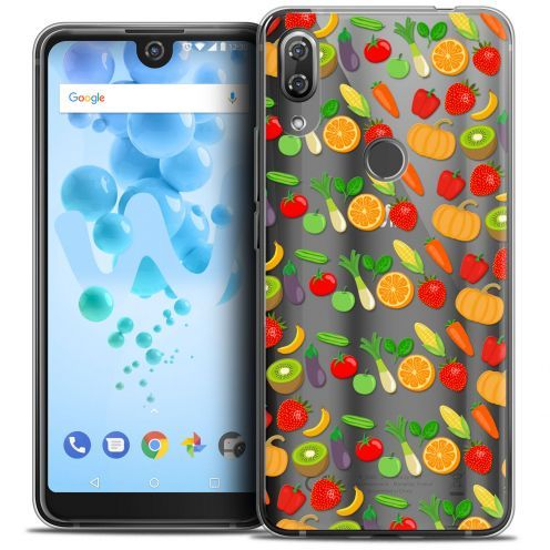 "Carcasa Crystal Gel Extra Fina Wiko View 2 PRO (6.0"") Foodie Healthy"