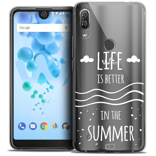 "Carcasa Crystal Gel Extra Fina Wiko View 2 PRO (6.0"") Summer Life's Better"