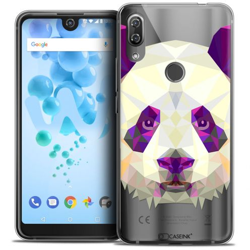 "Carcasa Crystal Gel Extra Fina Wiko View 2 PRO (6.0"") Polygon Animals Panda"
