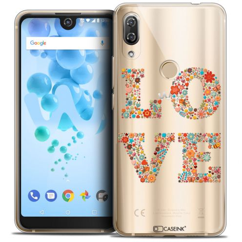 "Carcasa Crystal Gel Extra Fina Wiko View 2 PRO (6.0"") Summer Love Flowers"