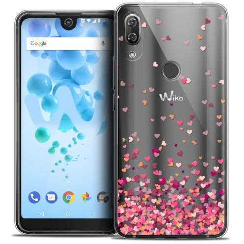 "Carcasa Crystal Gel Extra Fina Wiko View 2 PRO (6.0"") Sweetie Heart Flakes"