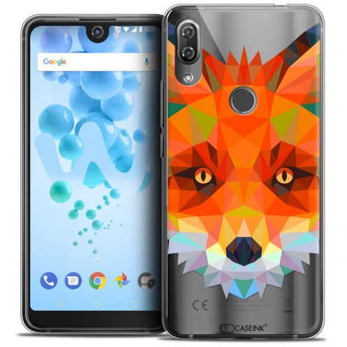 "Carcasa Crystal Gel Extra Fina Wiko View 2 PRO (6.0"") Polygon Animals Zorro"