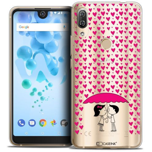 """Carcasa Crystal Gel Extra Fina Wiko View 2 PRO (6.0"""") Love Pluie d'Amour"""
