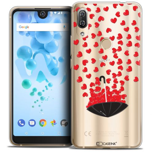 """Carcasa Crystal Gel Extra Fina Wiko View 2 PRO (6.0"""") Love Parapluie d'Amour"""