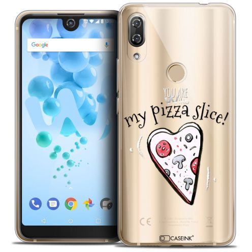 "Carcasa Crystal Gel Extra Fina Wiko View 2 PRO (6.0"") Love My Pizza Slice"