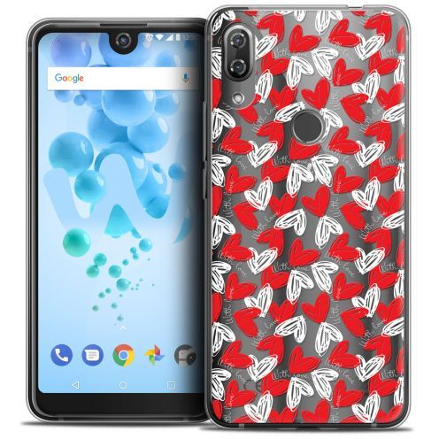 "Carcasa Crystal Gel Extra Fina Wiko View 2 PRO (6.0"") Love With Love"