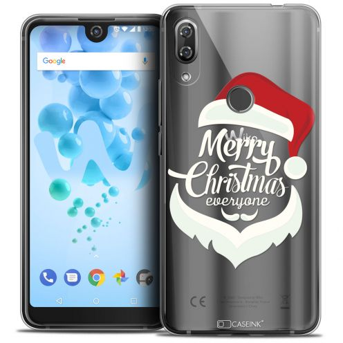 "Carcasa Crystal Gel Extra Fina Wiko View 2 PRO (6.0"") Noël 2017 Merry Everyone"