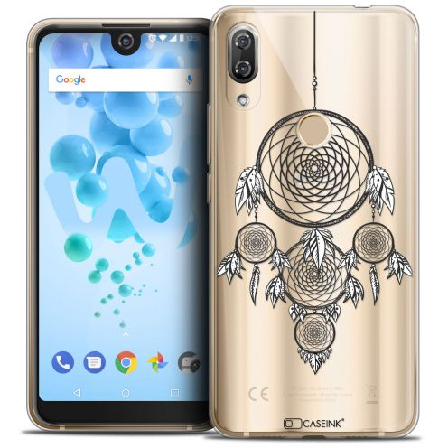 "Carcasa Crystal Gel Extra Fina Wiko View 2 PRO (6.0"") Dreamy Attrape Rêves NB"