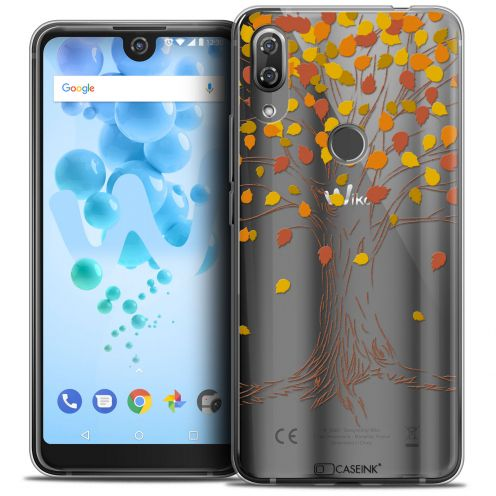 "Carcasa Crystal Gel Extra Fina Wiko View 2 PRO (6.0"") Autumn 16 Tree"
