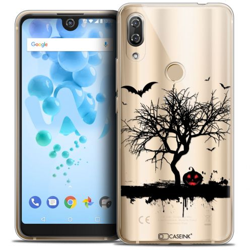 "Carcasa Crystal Gel Extra Fina Wiko View 2 PRO (6.0"") Halloween Devil's Tree"