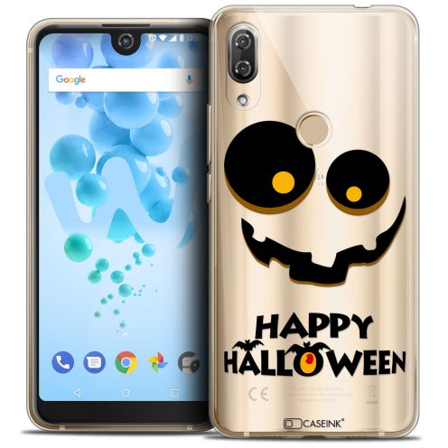 "Carcasa Crystal Gel Extra Fina Wiko View 2 PRO (6.0"") Halloween Happy"