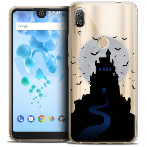 "Carcasa Crystal Gel Extra Fina Wiko View 2 PRO (6.0"") Halloween Castle Nightmare"