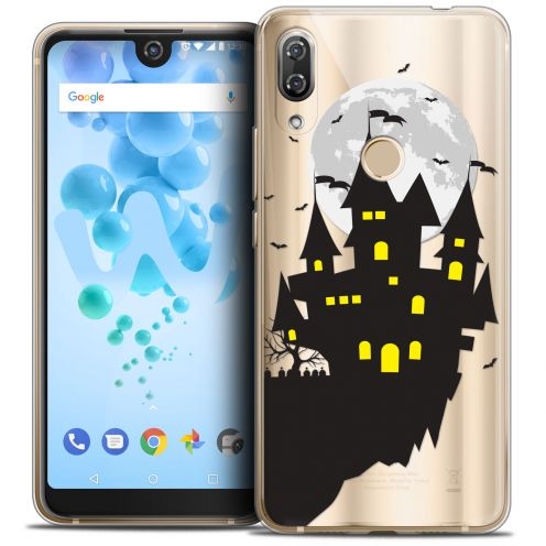 "Carcasa Crystal Gel Extra Fina Wiko View 2 PRO (6.0"") Halloween Castle Dream"