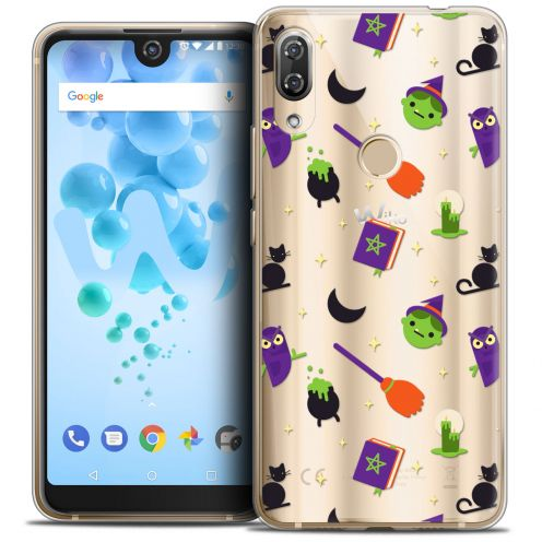"Carcasa Crystal Gel Extra Fina Wiko View 2 PRO (6.0"") Halloween Witch Potter"