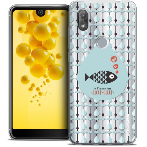 "Carcasa Crystal Gel Extra Fina Wiko View 2 (6.0"") Petits Grains® Le Poisson"
