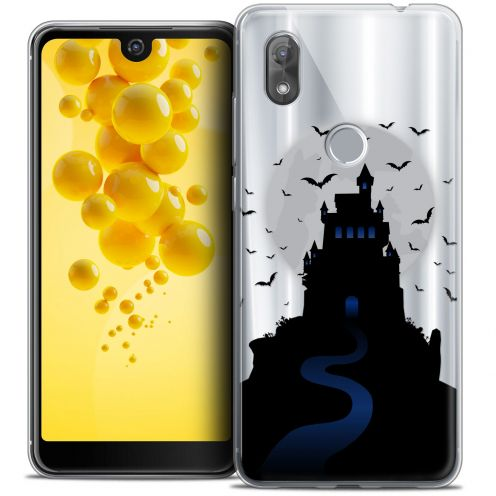 "Carcasa Crystal Gel Extra Fina Wiko View 2 (6.0"") Halloween Castle Nightmare"