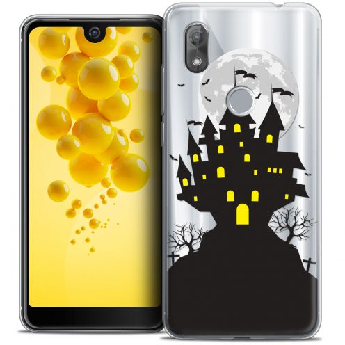 "Carcasa Crystal Gel Extra Fina Wiko View 2 (6.0"") Halloween Castle Scream"