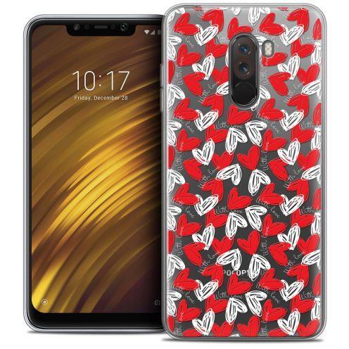 "Carcasa Crystal Gel Extra Fina Xiaomi Pocophone F1 (6.18"") Love With Love"