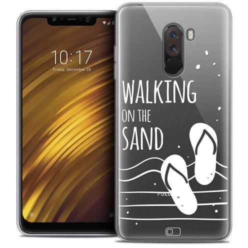 "Carcasa Crystal Gel Extra Fina Xiaomi Pocophone F1 (6.18"") Summer Walking on the Sand"