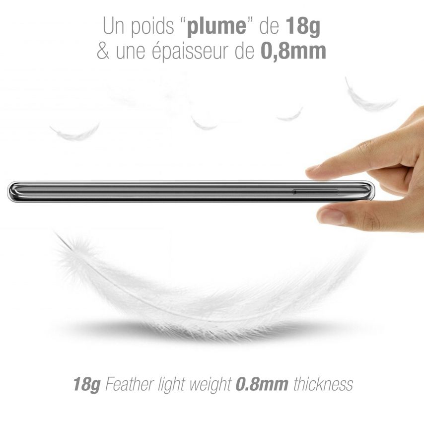 "Carcasa Extra Fina 1 mm Flexible Crystal Clear para Huawei P20 PRO (6.1"")"