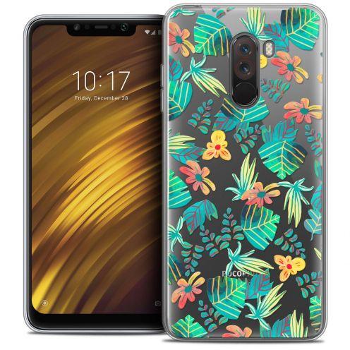 "Carcasa Crystal Gel Extra Fina Xiaomi Pocophone F1 (6.18"") Spring Tropical"