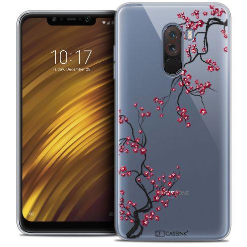 "Carcasa Crystal Gel Extra Fina Xiaomi Pocophone F1 (6.18"") Summer Sakura"