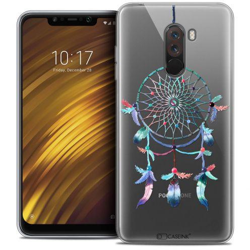 """Carcasa Crystal Gel Extra Fina Xiaomi Pocophone F1 (6.18"""") Dreamy Attrape Rêves Rainbow"""