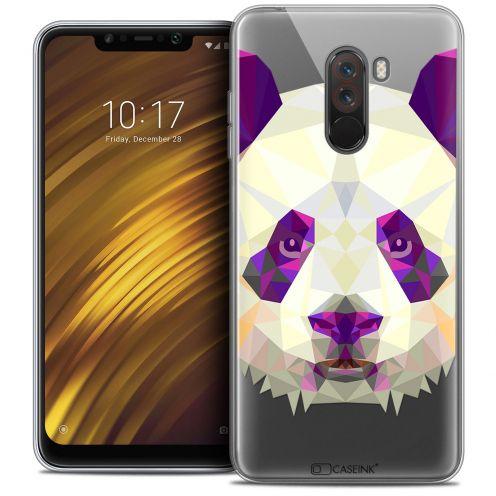 "Carcasa Crystal Gel Extra Fina Xiaomi Pocophone F1 (6.18"") Polygon Animals Panda"