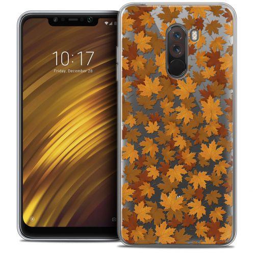 "Carcasa Crystal Gel Extra Fina Xiaomi Pocophone F1 (6.18"") Autumn 16 Feuilles"