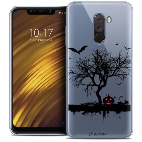 "Carcasa Crystal Gel Extra Fina Xiaomi Pocophone F1 (6.18"") Halloween Devil's Tree"