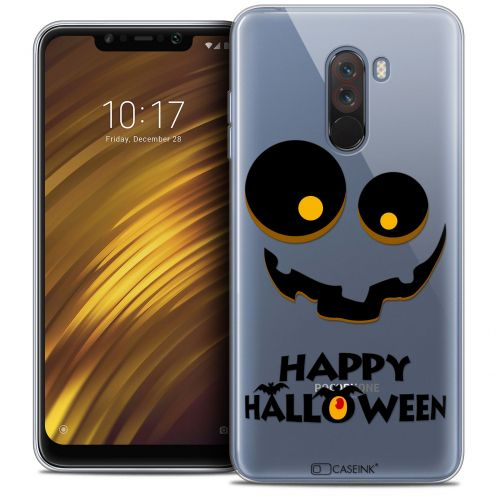 """Carcasa Crystal Gel Extra Fina Xiaomi Pocophone F1 (6.18"""") Halloween Happy"""