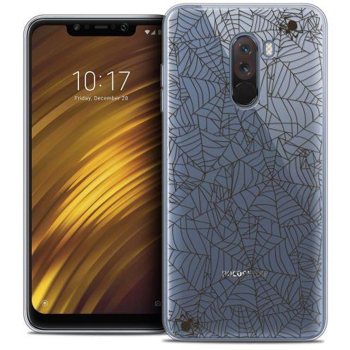 "Carcasa Crystal Gel Extra Fina Xiaomi Pocophone F1 (6.18"") Halloween Spooky Spider"