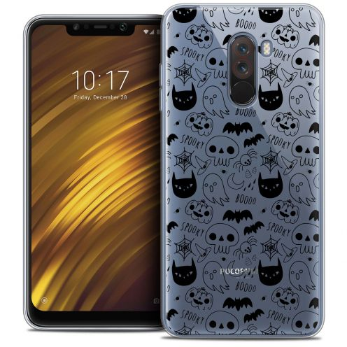"Carcasa Crystal Gel Extra Fina Xiaomi Pocophone F1 (6.18"") Halloween Spooky"