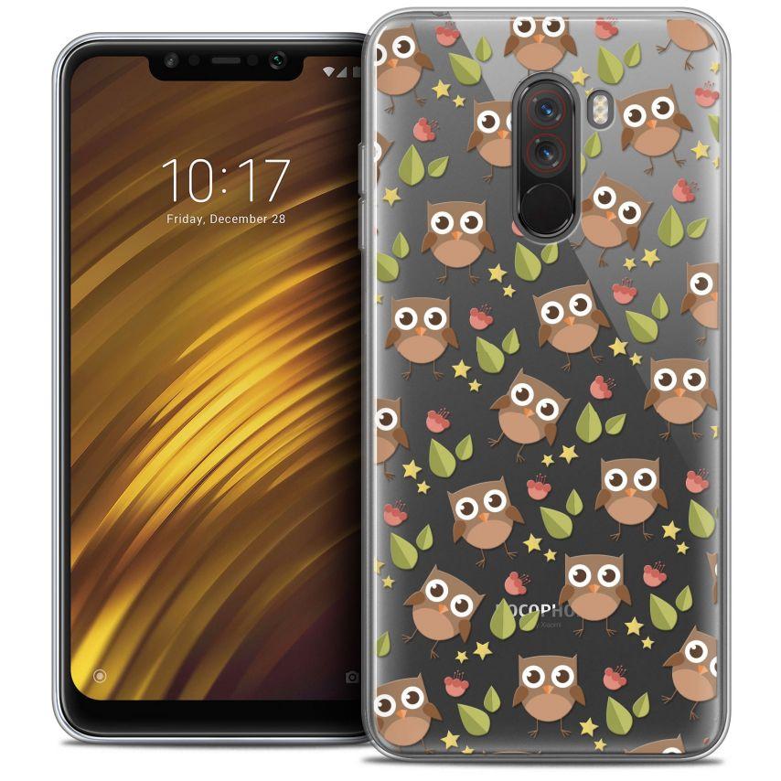 "Carcasa Crystal Gel Extra Fina Xiaomi Pocophone F1 (6.18"") Summer Hibou"