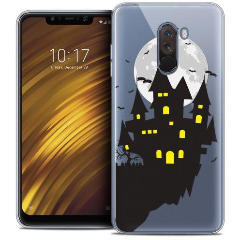 "Carcasa Crystal Gel Extra Fina Xiaomi Pocophone F1 (6.18"") Halloween Castle Dream"