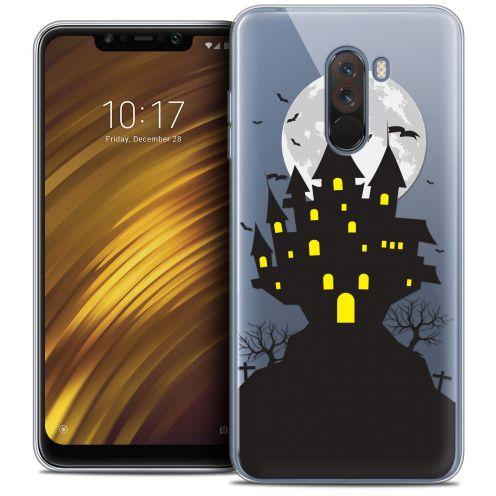"Carcasa Crystal Gel Extra Fina Xiaomi Pocophone F1 (6.18"") Halloween Castle Scream"