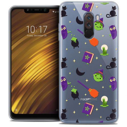 "Carcasa Crystal Gel Extra Fina Xiaomi Pocophone F1 (6.18"") Halloween Witch Potter"