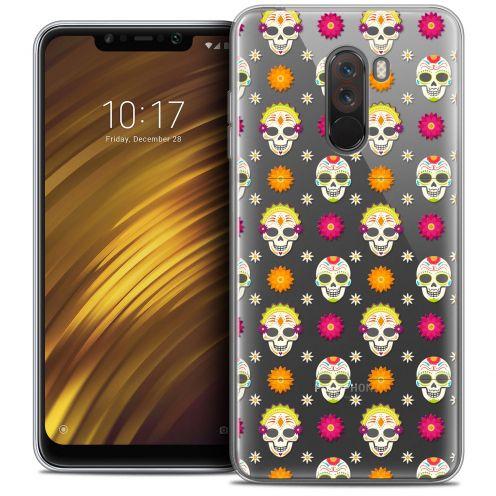 """Carcasa Crystal Gel Extra Fina Xiaomi Pocophone F1 (6.18"""") Halloween Skull Halloween"""