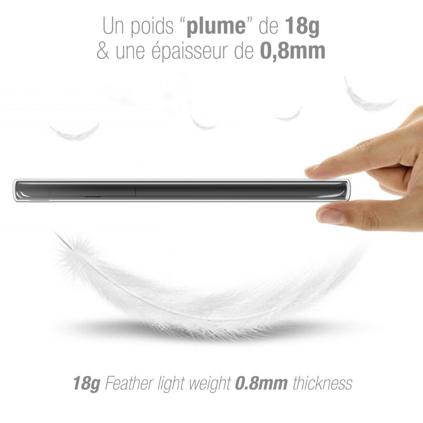 "Carcasa Extra Fina 1 mm Flexible Crystal Clear para Sony Xperia L1 (5.5"")"