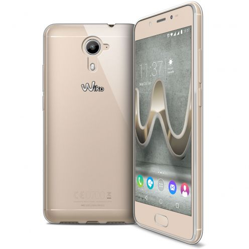 Carcasa Extra Fina 1 mm Flexible Crystal Clear para Wiko U Feel Prime