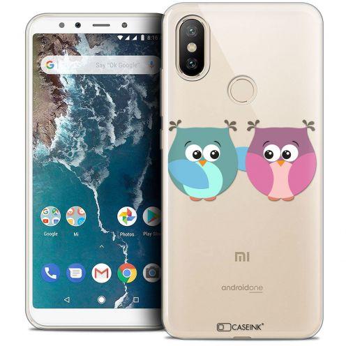 "Carcasa Crystal Gel Extra Fina Xiaomi Mi A2 (5.99"") Love Hibous à deux"
