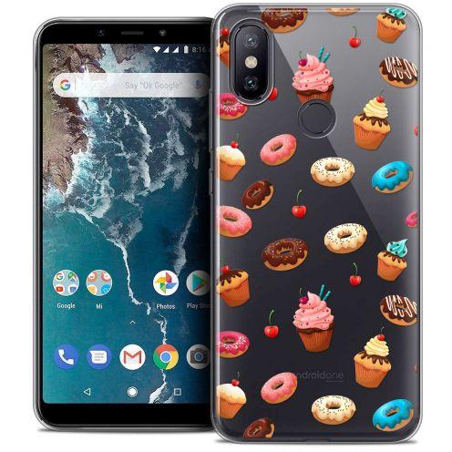 "Carcasa Crystal Gel Extra Fina Xiaomi Mi A2 (5.99"") Foodie Donuts"