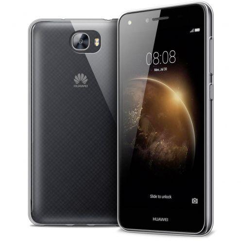 Carcasa Extra Fina 1 mm Flexible Crystal Clear para Huawei Y6II Compact