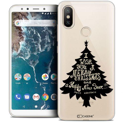 "Carcasa Crystal Gel Extra Fina Xiaomi Mi A2 (5.99"") Noël 2017 XOXO Tree"