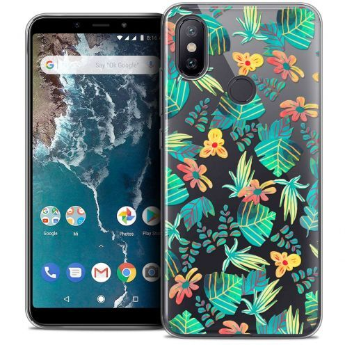 "Carcasa Crystal Gel Extra Fina Xiaomi Mi A2 (5.99"") Spring Tropical"