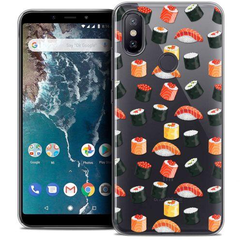 """Carcasa Crystal Gel Extra Fina Xiaomi Mi A2 (5.99"""") Foodie Sushi"""