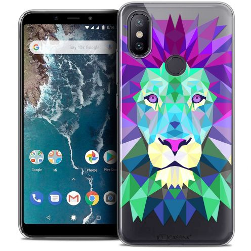 "Carcasa Crystal Gel Extra Fina Xiaomi Mi A2 (5.99"") Polygon Animals León"