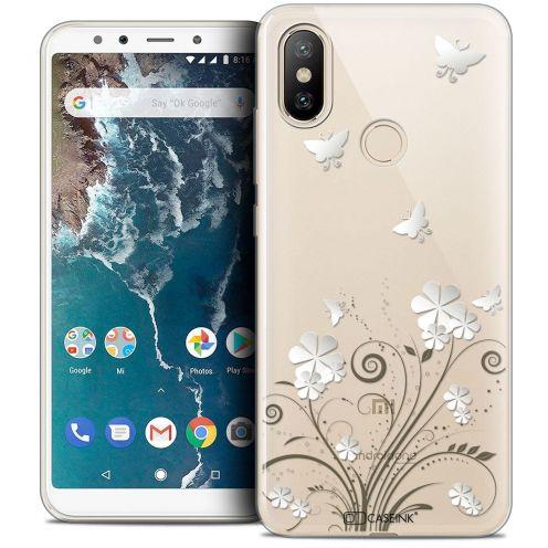 """Carcasa Crystal Gel Extra Fina Xiaomi Mi A2 (5.99"""") Summer Papillons"""